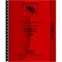International Harvester F30 Tractor Parts Manual