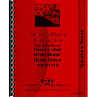 International Harvester Horse Drawn Grain Binder Operators Manual (1890-1910)