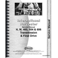Farmall 504 Tractor Transmission & Final Drive Service Manual