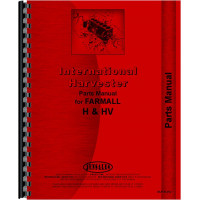 Farmall HV Tractor Parts Manual (all years, all sn#)