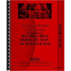 Mccormick Deering Tractor Service Manual (IH-S-W9 SERIES)