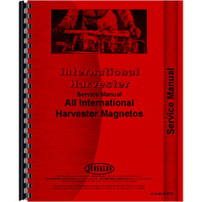 International Harvester J4 Magneto Service Manual