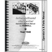Farmall M Tractor Operators & Parts Manual (SN# 7240-25370)