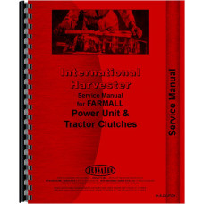 International Harvester 3514 Tractor Clutch Service Manual (Clutch)