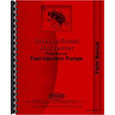 Mccormick Deering WD9 Tractor Diesel Pump Parts Manual