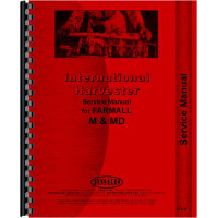 Farmall MV Tractor Service Manual (all years, all sn#)