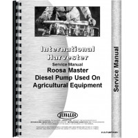 International Harvester 460 Tractor Diesel Pump Service Manual