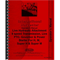 International Harvester Super M Tractor Special Attachments Operators Manual