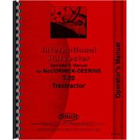 International Harvester T20 Crawler Operators Manual