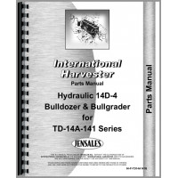 International Harvester TD14A Crawler Parts Manual (Series)
