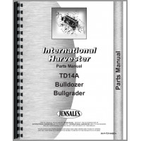 International Harvester TD14A Crawler Bulldozer Attachment Parts Manual (Attachment)