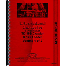 International Harvester TD15B Crawler Service Manual (Chassis)