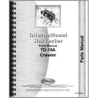 International Harvester TD18A Crawler Parts Manual (SN# 22001-33650)