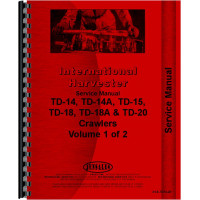 International Harvester TD14A Crawler Service Manual (Series)