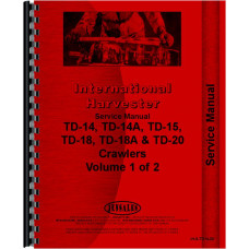 International Harvester TD15 Crawler Service Manual (Chassis)