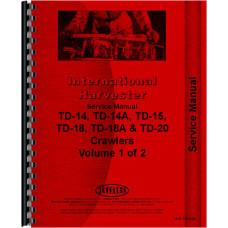 International Harvester TD14A Crawler Service Manual (Series)