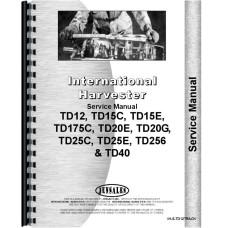 International Harvester TD20E Crawler Track Only Service Manual