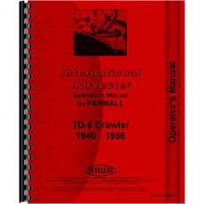 International Harvester TD6 Crawler Operators Manual (Prior to 61) (Diesel Only)
