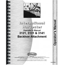 International Harvester 2424 Backhoe Attachment Operators Manual (Attachment)