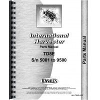 International Harvester TD8E Crawler Parts Manual (SN# 5001-9500) (Chassis)