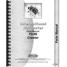 International Harvester TD8E Crawler Parts Manual