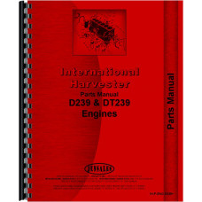 International Harvester 260A Industrial Tractor Engine Parts Manual (All SN#s)