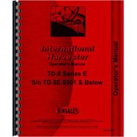 International Harvester TD8E Crawler Operators Manual