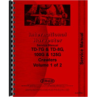 International Harvester TD8E Crawler Service Manual (SN# 9501 and Up) (Chassis)