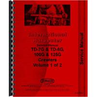 International Harvester TD8G Crawler Service Manual (Chassis)