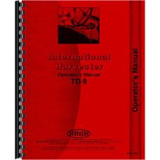 International Harvester TD9 Crawler Operators Manual (SN# TDCB501-58819, 1940-1956)
