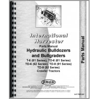 International Harvester TD6 Crawler Bulldozer Attachment Parts Manual (Series)