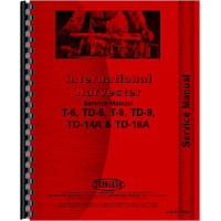 International Harvester TD14A Crawler Service Manual