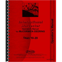 International Harvester Titan 10-20 Tractor Operators Manual