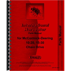 Mccormick Deering 15-30 Tractor Parts Manual (Chain Drive)
