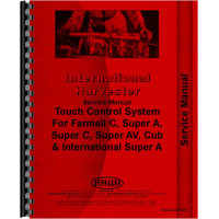International Harvester Touch Control Service Manual