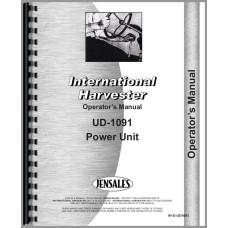 International Harvester UD1091 Power Unit Operators Manual