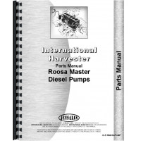 International Harvester Roosa Master Injection Pumps Parts Manual