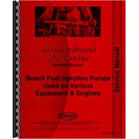 International Harvester 4568 Tractor Diesel Pump Service Manual