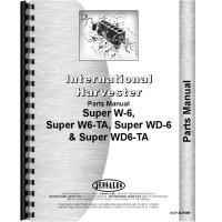 Farmall Super WD6TA Tractor Parts Manual