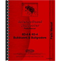 International Harvester TD6 Crawler Bulldozer Attachment Parts Manual (Series w/ attachment)