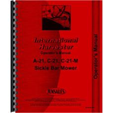 International Harvester C-21 Mower Operators Manual (Sickle Bar Mower)