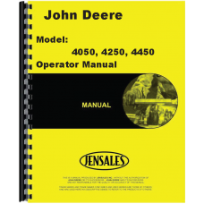 John Deere 4250 Tractor Operators Manual (0-009672)