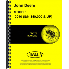 John Deere 2040 Tractor Parts Manual (350000 and Up)