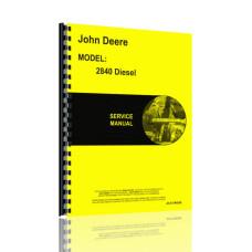 John Deere 2840 Tractor Service Manual