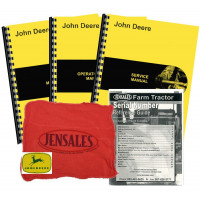 John Deere 4000 (S/N 201,000-250,000) Deluxe Tractor Manual Kit