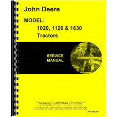 John Deere 1020 Tractor Service Manual (Sn 115,000L & Up)