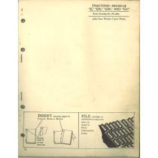 John Deere GH Tractor Parts Manual (NOS)
