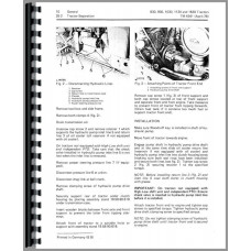 John Deere 830 Tractor Service Manual