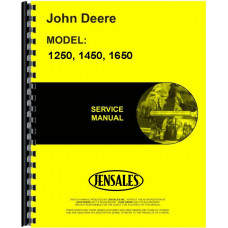 John Deere 1250 Tractor Service Manual (Includes 2 Volumes)