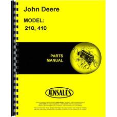 John Deere 210 Corn Head Parts Manual
